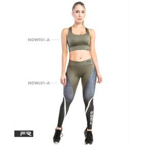 a4334412eb547 Legging Leggins Lycra Fiber Colombiana Fitness Malla 2
