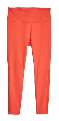 leggings deportivos mujer compresión ajustado dama rojo gap