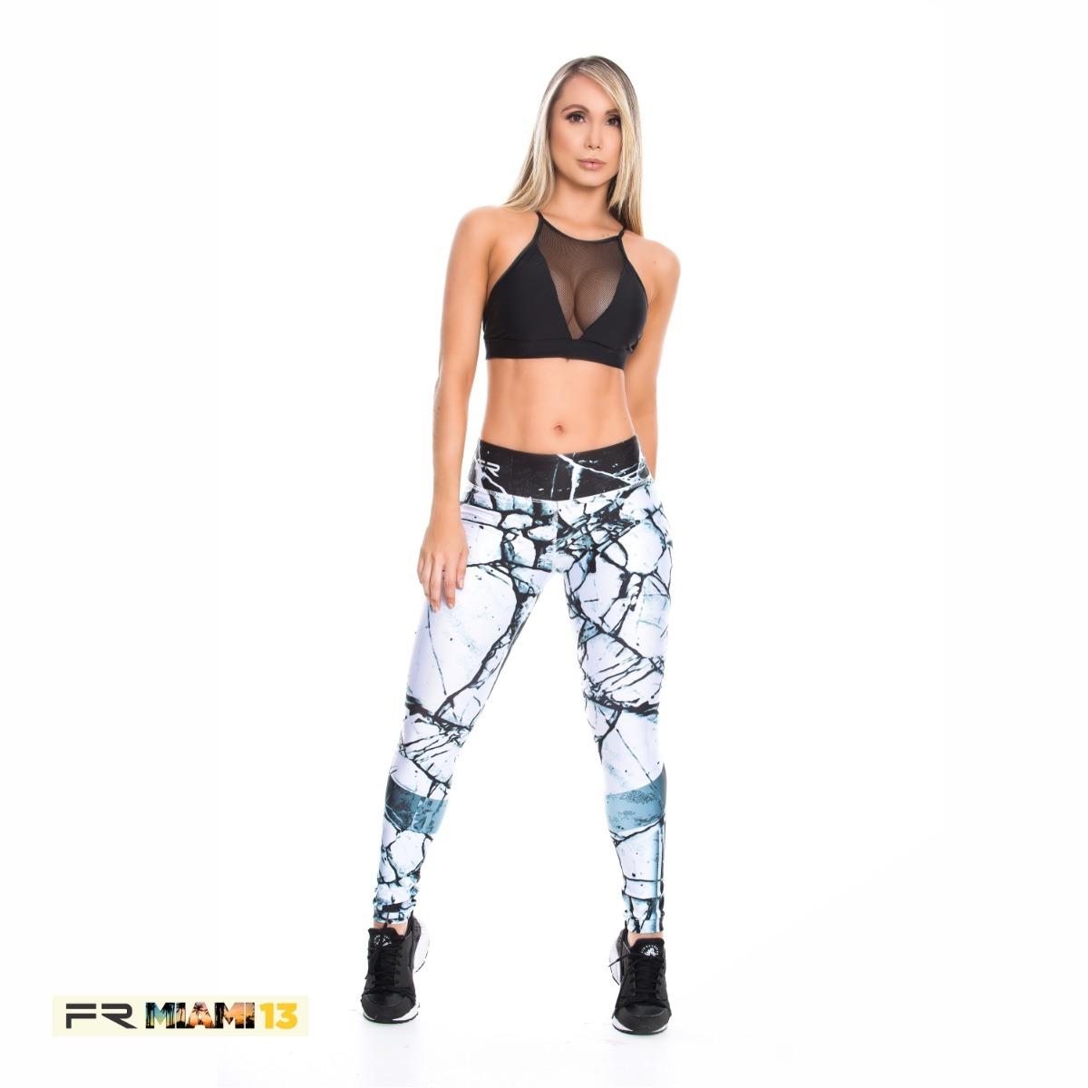 Cargando zoom... leggins fiber ropa deportiva colombiana leggings malla  lycra 3e94ca9a66fb1