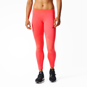Pantuflas Adidas Leggings y Lycras de Mujer Naranja en