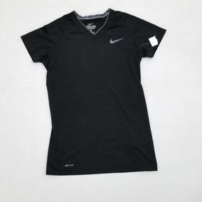 04e6b499a Licra Nike Pro Combat Hombre Negro Chica Fitted Dri Fit.