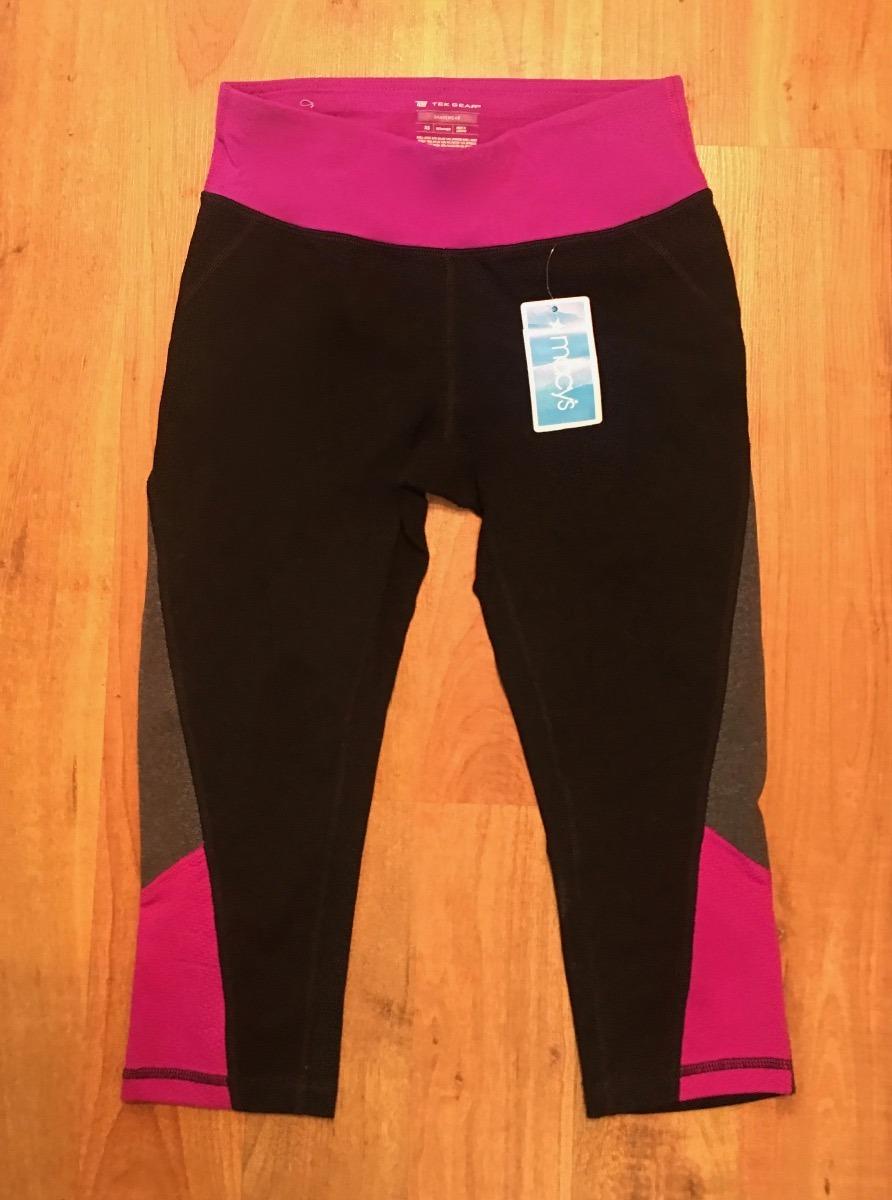 c8d0a89bf6fe9 leggings mayones tek gear shapewear compression bicolor orig. Cargando zoom.