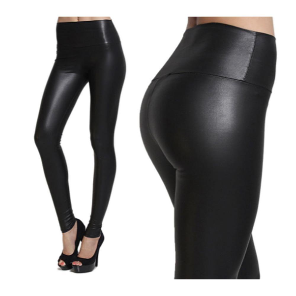 deaddf104 Leggings Pantalon Vinipiel Tipo Piel Negro Nuevo -   380.00 en ...