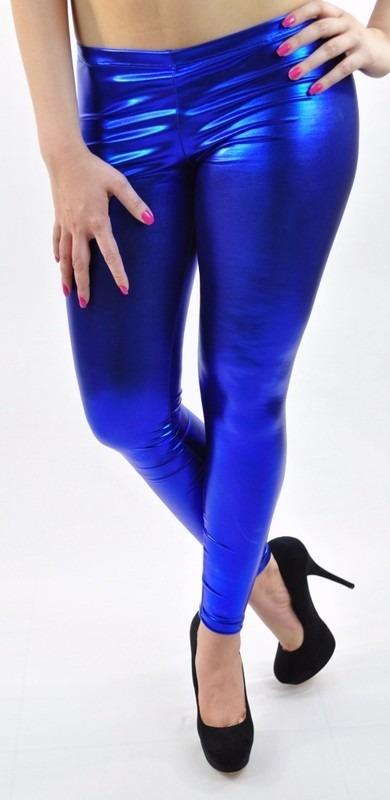 Leggings Vinipiel Metalizado Sexy Vinil Latex De Colores ...