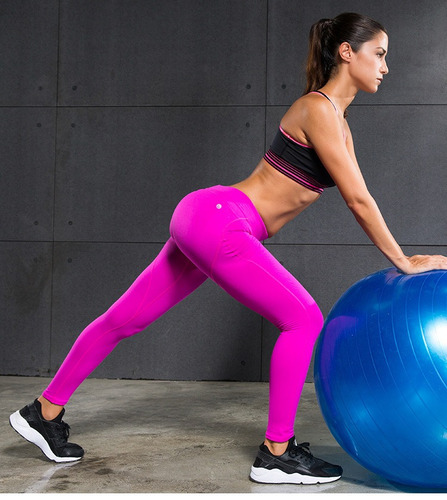 leggins de gimnasio delgado fitnes yoga dama sexy push up