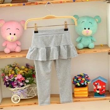 leggins de niñas full licra c/falda bobos- ivanitafashion!!!
