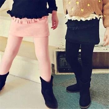 leggins de niñas full licra falda y bobos- ivanitafashion!!!