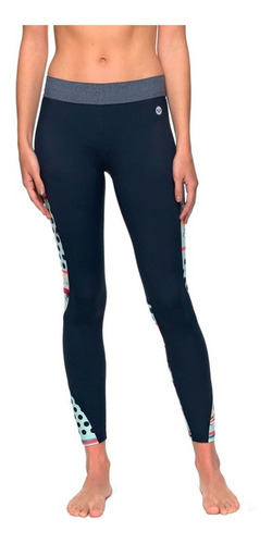 leggins deportivos dama estampado multicolor roxy