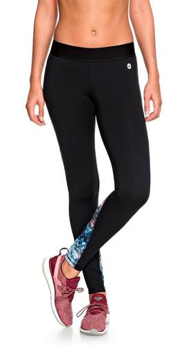 leggins deportivos dama ultra absorbente estampado roxy
