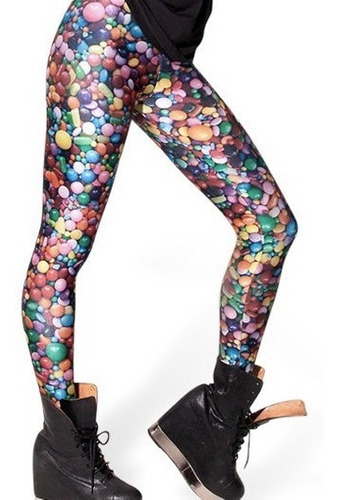 leggins estampado divertido original buen calce original top
