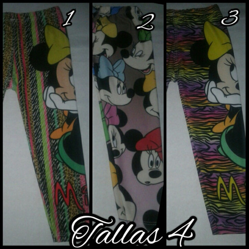 leggins frozen intensamente peppa minions minnie sofia