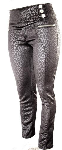 leggins jeans pantalon modelador stretch tallas extra