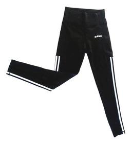 Leggins, Lycra Deportiva adidas Original, Malla Dama