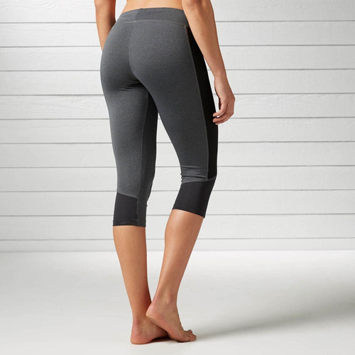 leggins malla deportiva workout ready mujer reebok bk4400