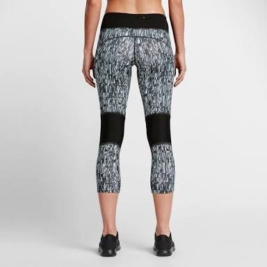 leggins nike running racer crop power capri