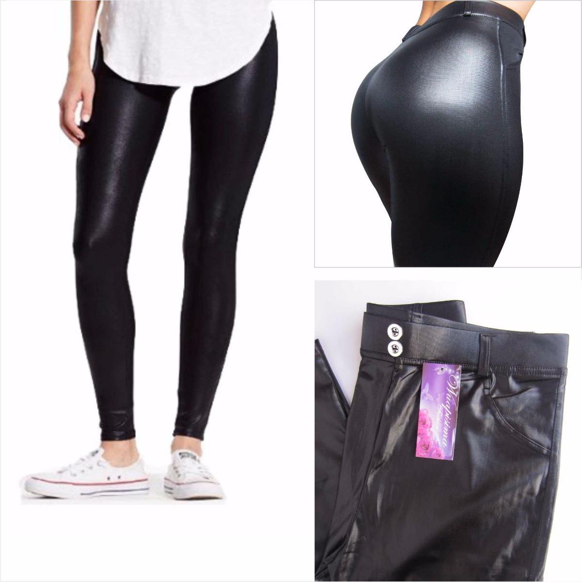 10d587c1c1 leggins pantalon licra moda mujer sintetico imitacion cuero. Cargando zoom.