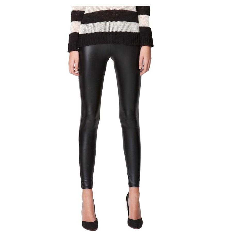 leggins pantalon tipo cuero tela cuerina licrado ropa moda. Cargando zoom. 3dbb86b4171