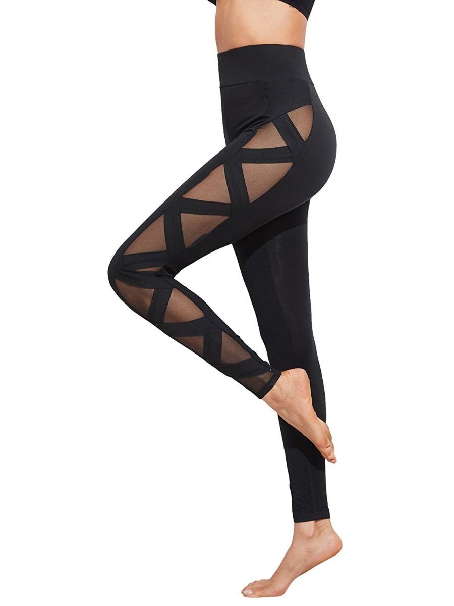 leggins para yoga fitness estilo transparente cruzado. Cargando zoom. d5d0f203d284