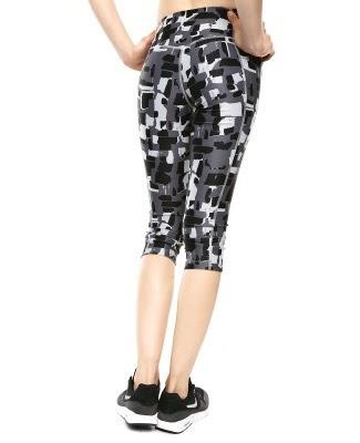 leggins printed nike power tight fit  training capris
