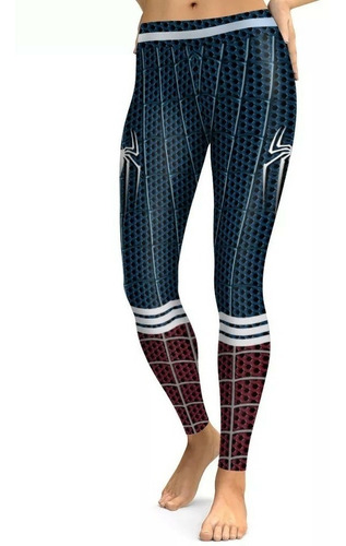 leggins spiderman hombre araña deportivo regalo super heroes