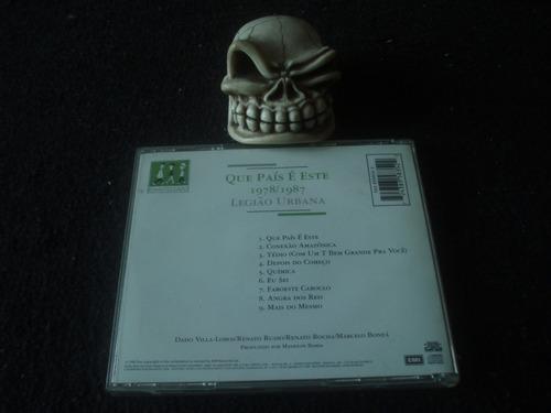 legião urbana  que país é este  cd