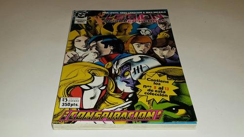 legion de super- heroes taco no. 2  ed. zinco dc comics