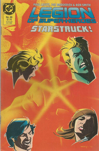 legion of super heroes 49 - dc comics - bonellihq cx31 j17