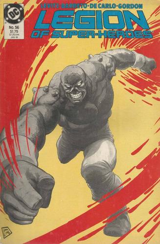 legion of super heroes 56 - dc comics - bonellihq cx31 j17