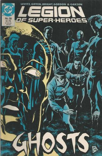legion of super heroes 59 - dc comics - bonellihq cx31 j17