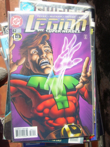 legion of super-heroes #82