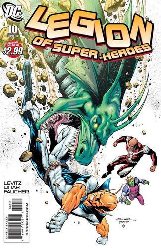 legion of superheroes #10 - en ingles