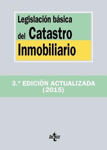 legislación básica del catastro inmobiliario(libro derecho c