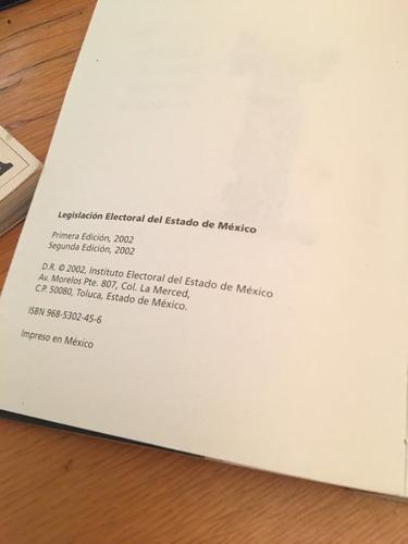 legislación electoral del estado de mexico
