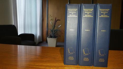 legislación impositiva de mendoza
