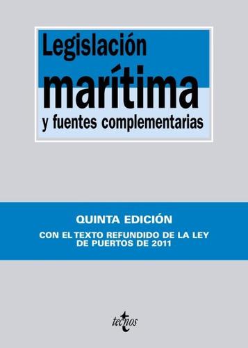 legislación marítima y fuentes complementarias(libro otras p