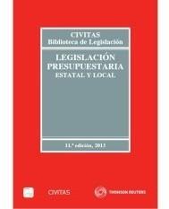 legislación presupuestaria : estatal y local(libro )