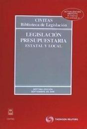 legislación presupuestaria(libro )