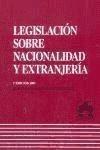 legislacion sobre nacionalidad y extranjeria(libro derecho i