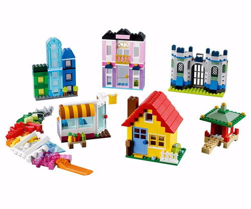 lego 10703 classic - 502 peças muitas portas e janelas novo