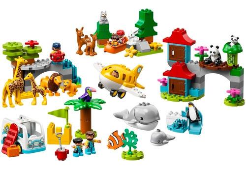lego - 10907  animales del mundo