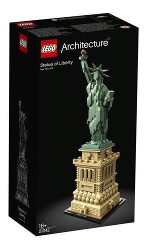 lego - 21042  estatua de la libertad