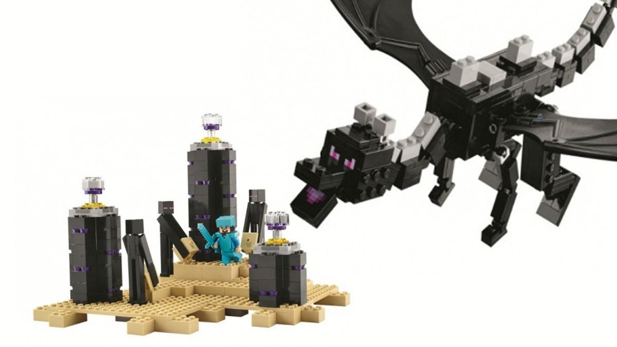 Lego 21117 Minecraft The Ender Dragon - Estoque No Brasil ...