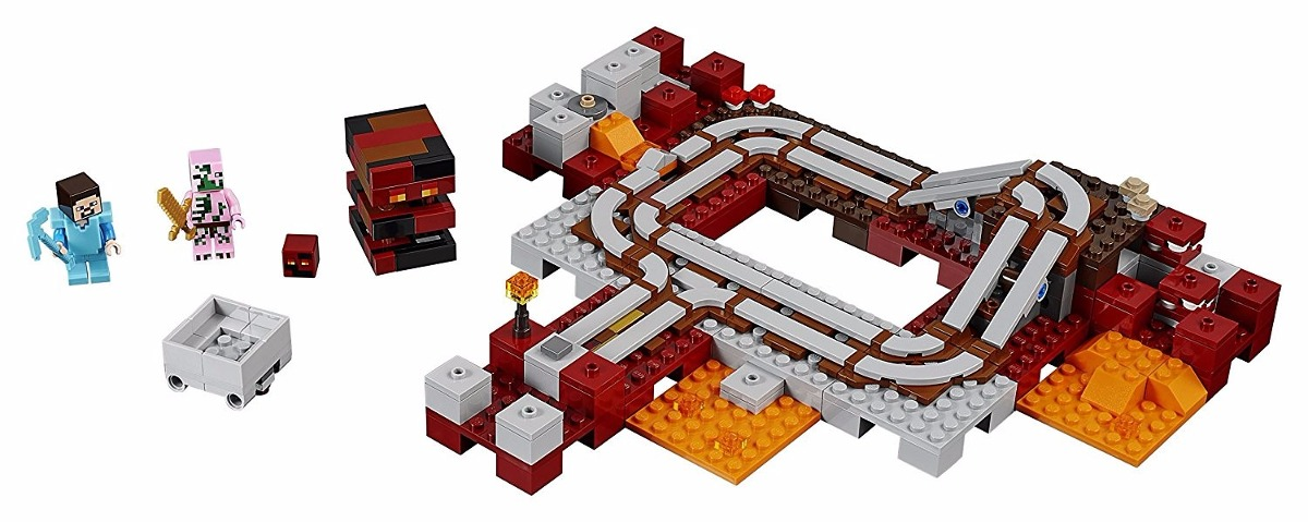 lego 21130 minecraft - the nether railway - ferrovia nether. Carregando  zoom. c98b423e41