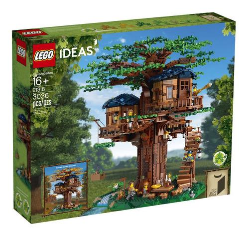 lego - 21318  casa del árbol