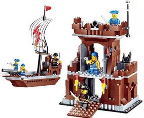 Pirata 431pcs 2en1 Cuartel Barco Juguete Legos Lego Juguetes QxhtsdrC