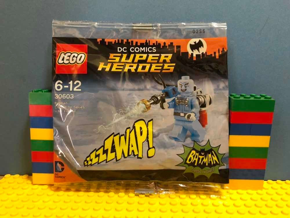 NEW LEGO MR FREEZE FROM SET 30603 BATMAN CLASSIC TV SERIES sh266