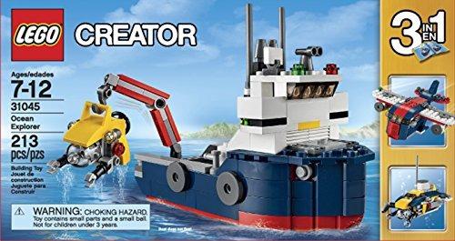 lego 31045 creator ocean explorer ciencia juguete para niños