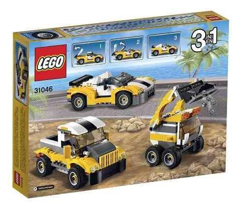 lego 31046 creator carro veloz - 3 em 1