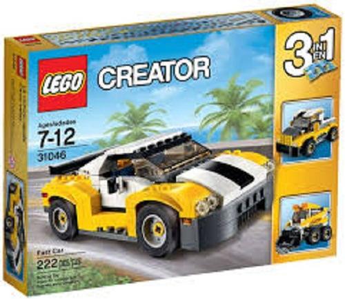 lego 31046 -  creator - carro veloz 3 em 1