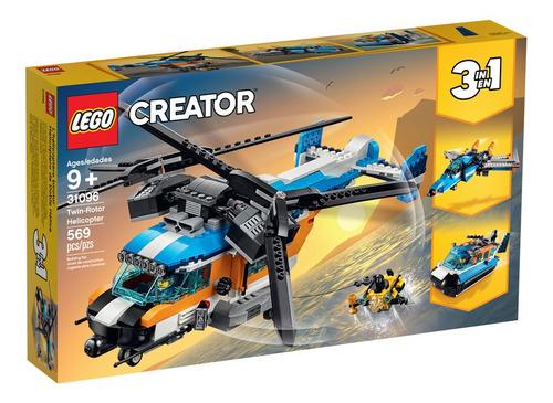 lego - 31096 helicóptero de doble hélice